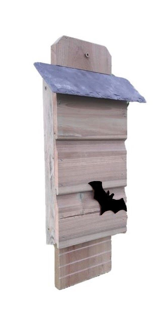 Bat Box with natural slate roof